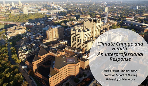 Climate Change and Health: An Interprofessional Response