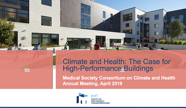 Climate and Health: The Case for High-Performance Buildings
