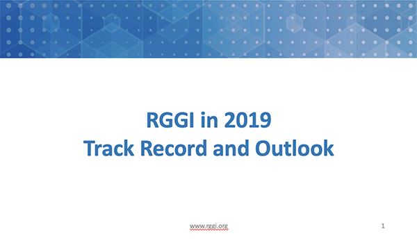 RGGI in 2019: Track Record and Outlook