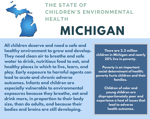 CEHN Children's Environmental Health Profile Michigan