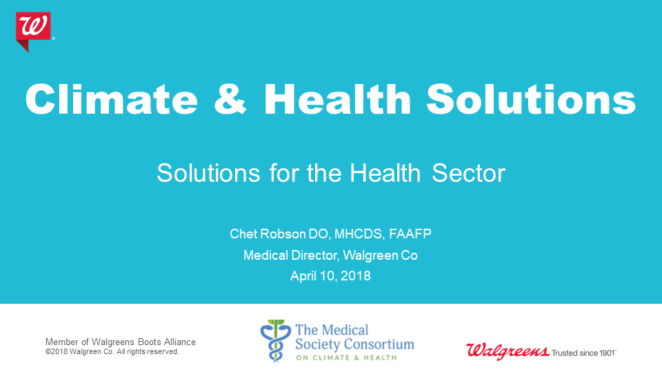 Solutions for the Health Sector